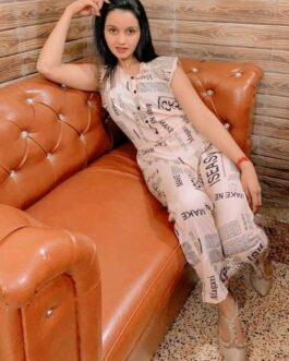 Classy Crepe Casual Women Sleeveless Printed Jumpsuit